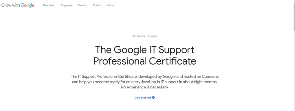 The Google IT Support Professional Certificate: All You Need to Know